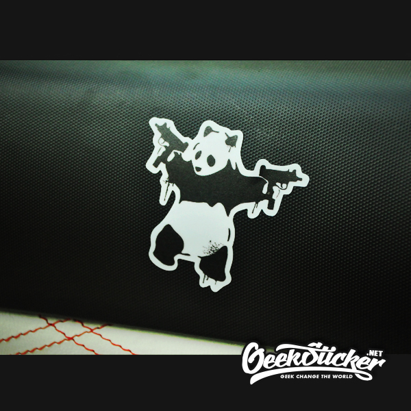 Panda Guns sticker-1