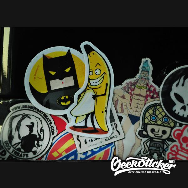 Bad Banana Man sticker-1
