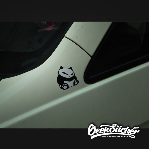 banksy Panda sticker-2