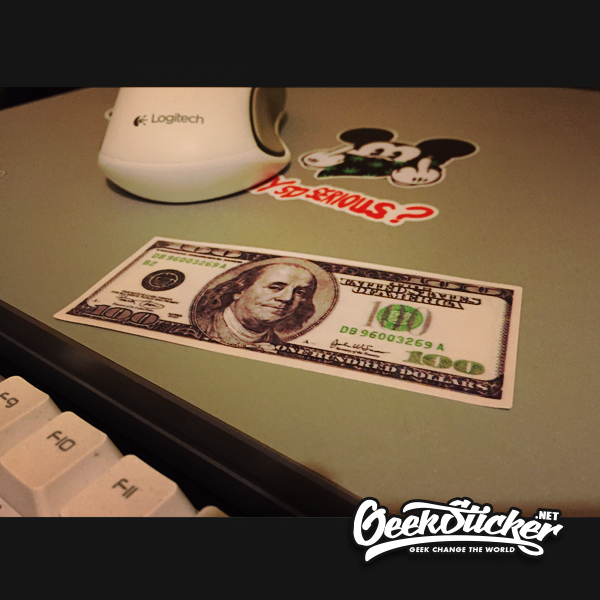 dollars sticker-2