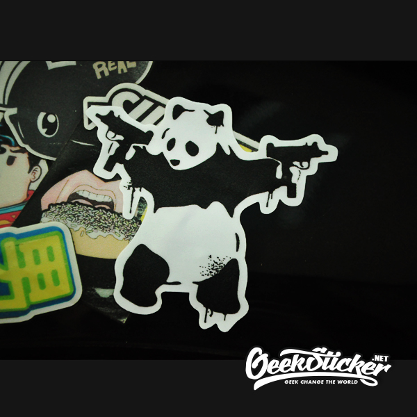 Panda Guns sticker-3
