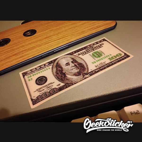 dollars sticker