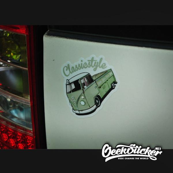 VW Beetle truck sticker-4