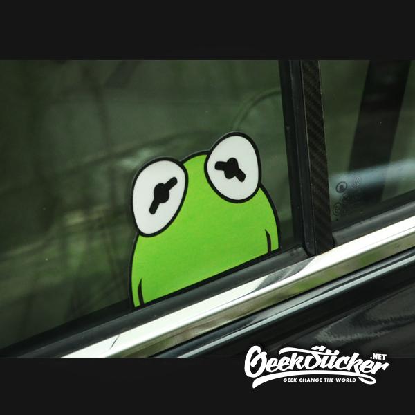 Sesame stree reflective sticker-4