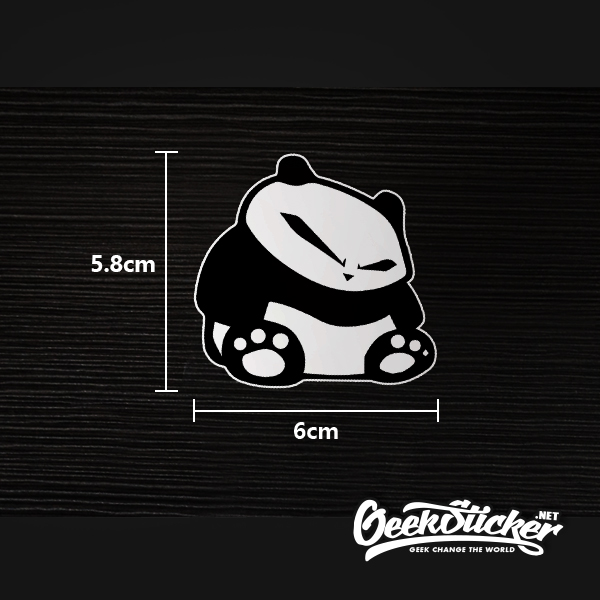 banksy Panda sticker-4