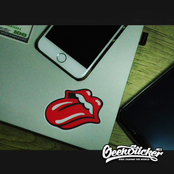 rolling stones tongue stickers-3