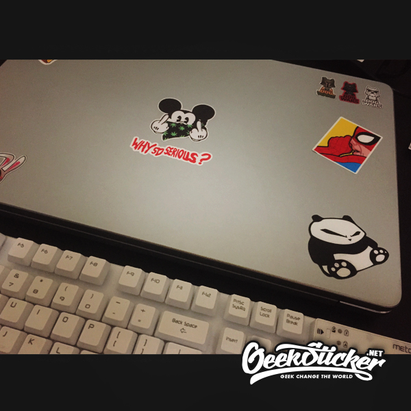 banksy Panda sticker-5