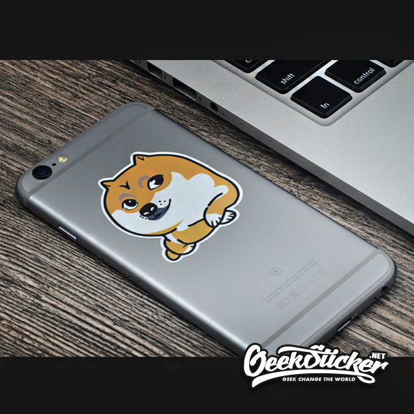 Doge, Kabosu sticker