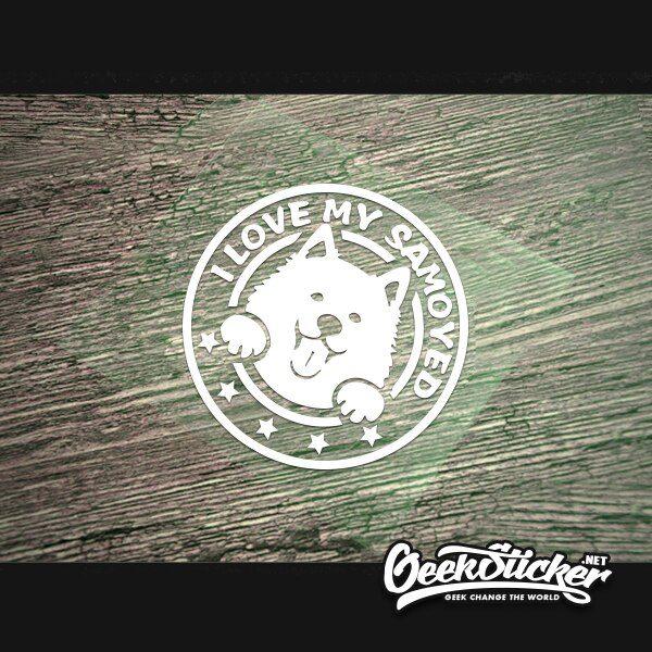 Samoyed sticker-5