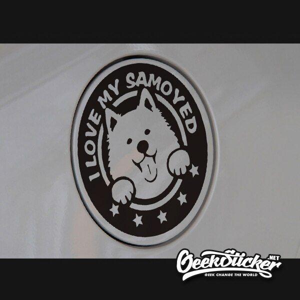 Samoyed sticker-4
