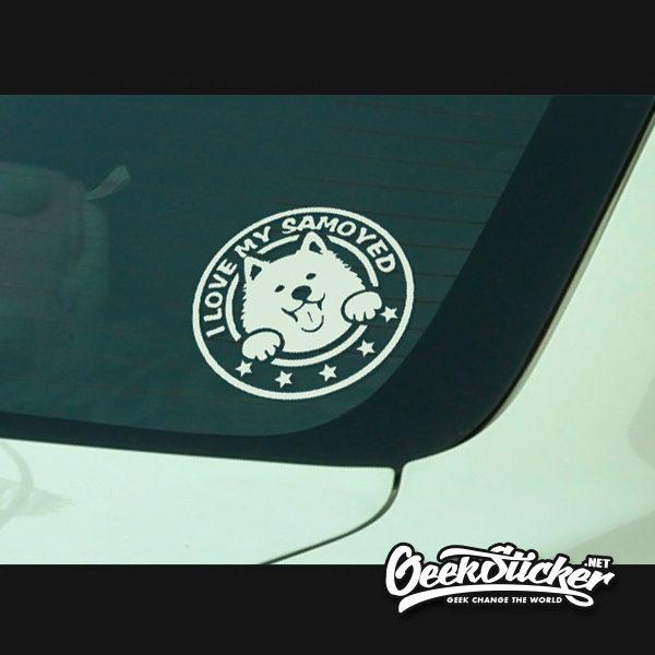 Samoyed sticker-3