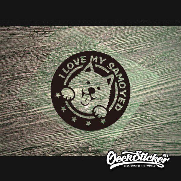Samoyed sticker-2