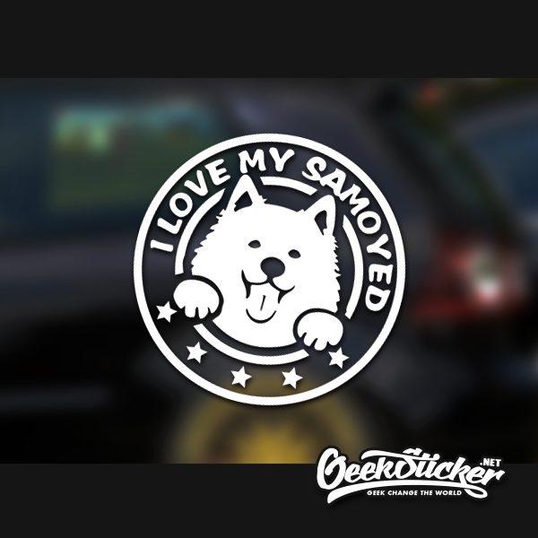 Samoyed sticker-6