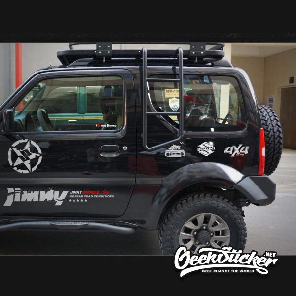Universal 4X4 Decal Stickers