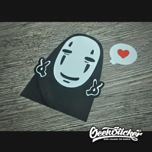 No Face Spirited Away Vehicle Decals