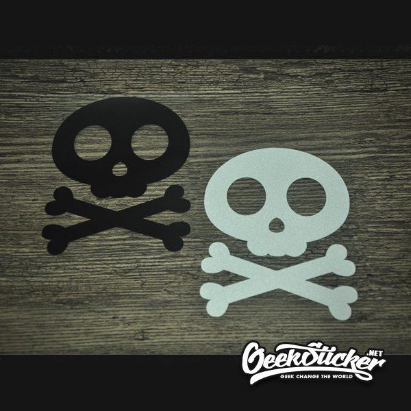 Cute Skull Sticker