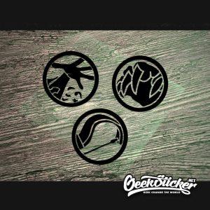 Warcraft stickers