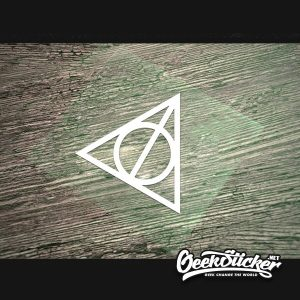 deathly hallows decal sticker-2