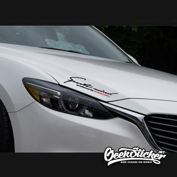 Mazda Sports Mind Decal Sticker