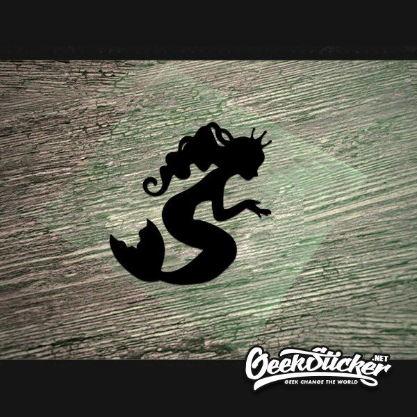 Cute Mermaid decal-3