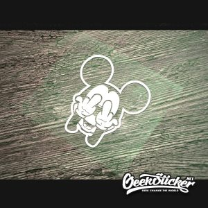 Cool mickey mouse decal stickers-2
