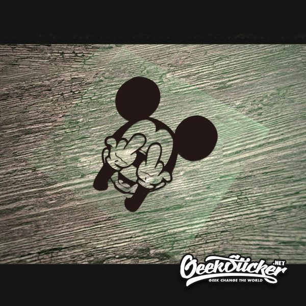 Cool mickey mouse decal sticker -3