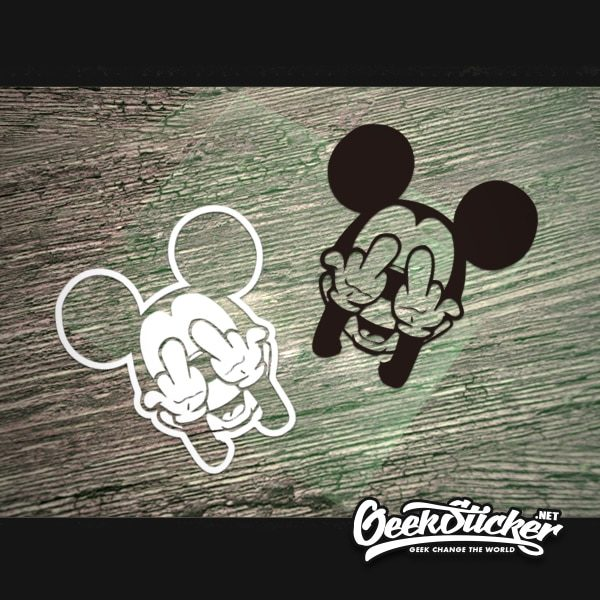 Cool mickey mouse decal sticker-4