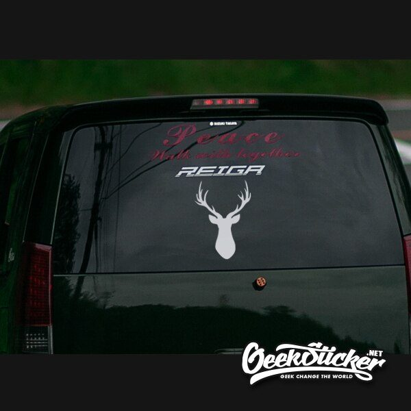 Deer Sticker Silhouette Vehicle Decals