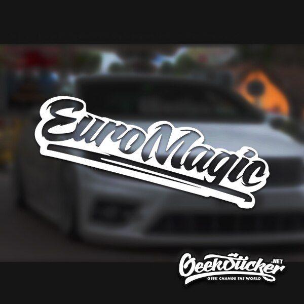 Euro magic Windshield Stickers Decal