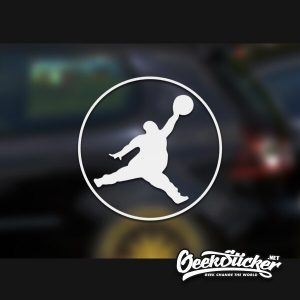 Fat Jordan Decal Stickers