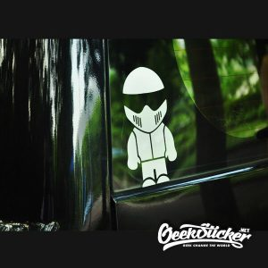 TopGear Stig Decal Car Sticker