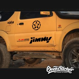 4WD Offroad JIMNY Side Door Car Sticker