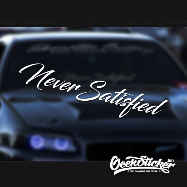 Front Windshield Decal Vinyl Car
