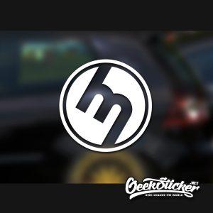 Mazda M logo 1960's Sticker