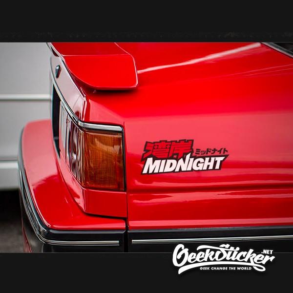 Wangan Midnight JDM Vehicle Decals Sticker