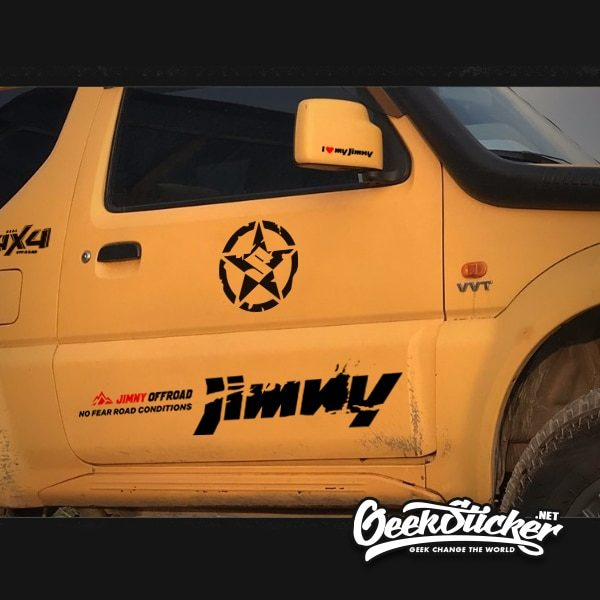 Swift decal jimny star sticker-4