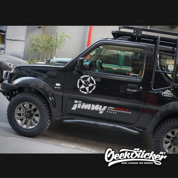 Swift decal jimny star sticker-5