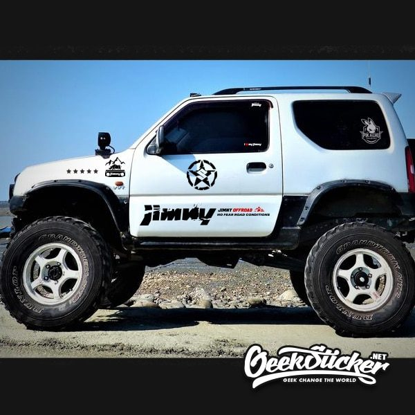 Swift decal jimny star sticker-6