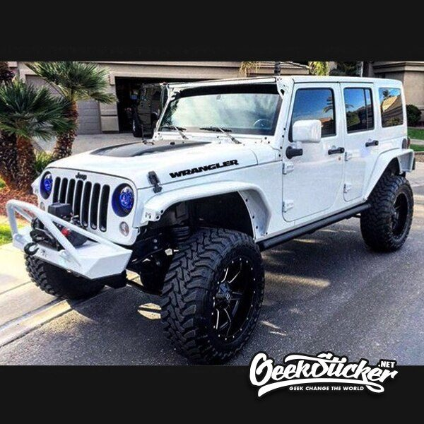 Jeep Wrangler Car Decal Stickers