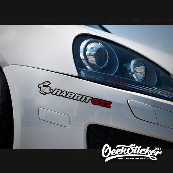 Volkswagen Rabbit Stickers