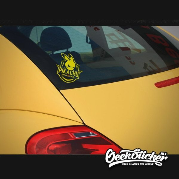 Pikachu Car Decal