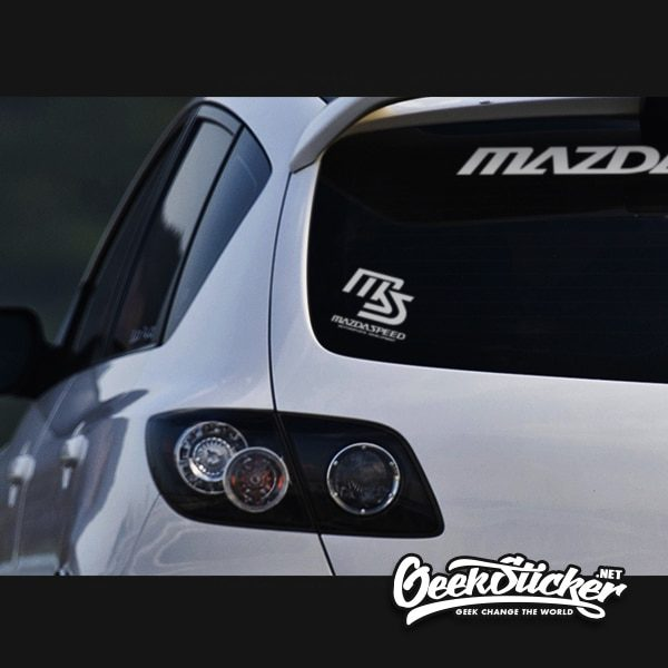 MAZDASPEED Fuel Tank Decal Sticker
