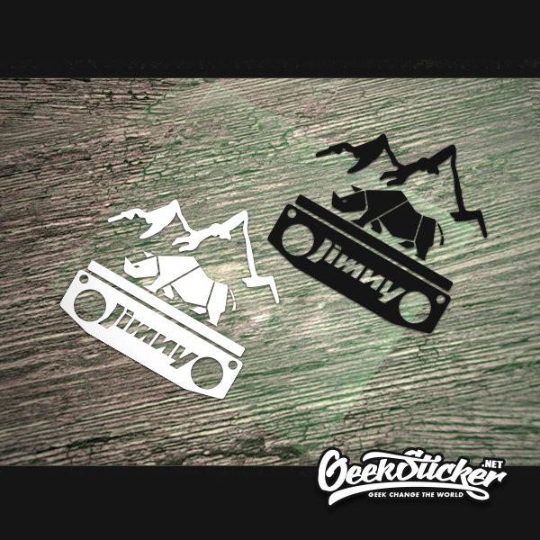 SUZUKI JIMNY Rhino Sticker