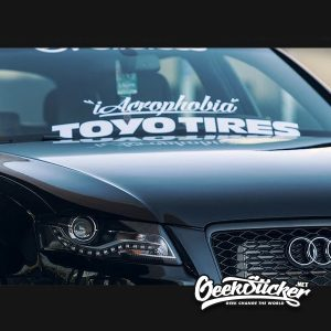 iAcrophobia Front Windshield Decal Sticker