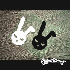 bad bunny decal evil easter bunny -2