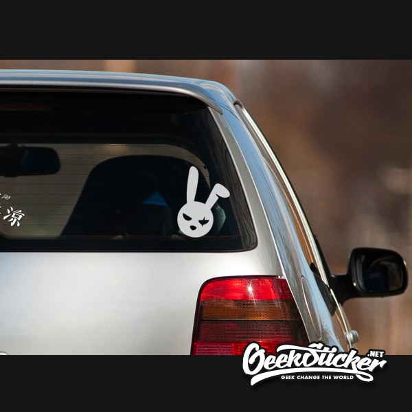 bad bunny decal evil easter bunny -6