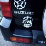 Waterproof Reflective Universal SUZUKI JIMNY Offroad Sticker Car Styling Vinyl car Sticker Exterior Decals car styling Black/Silver photo review