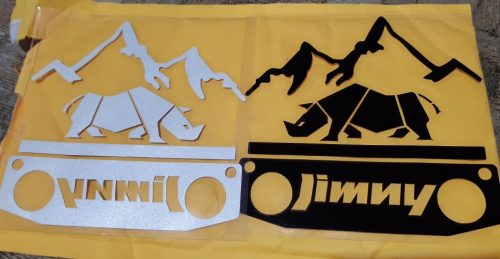 Waterproof Reflective offroad Car Styling Vinyl car Sticker Exterior Decals car styleing for SUZUKI JIMNY anywhere Vehicle Logo photo review