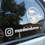 Custom Instagram Decal for Car instagram sticker Waterproof reflective Universal Car and Motorcycle Decals Bumper Sticker instagram name sticker 2 type photo review