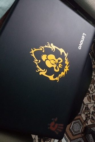 Classic Game WOW World of Warcraft Badge horde alliance stickers Decal vinyl Car Body Sticker waterproof reflective universal motorcycle Car etc photo review